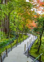Chisen-kaiyushiki garden at Ginkaku-ji Temple in Kyoto