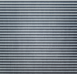 Metallic background. Striped aluminium texture