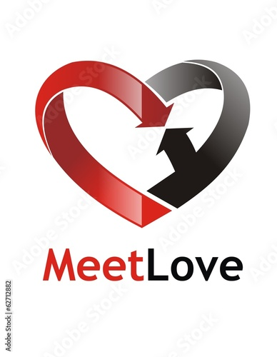 love meet logo