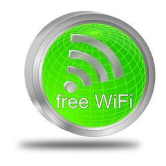 free WiFi Wlan Button