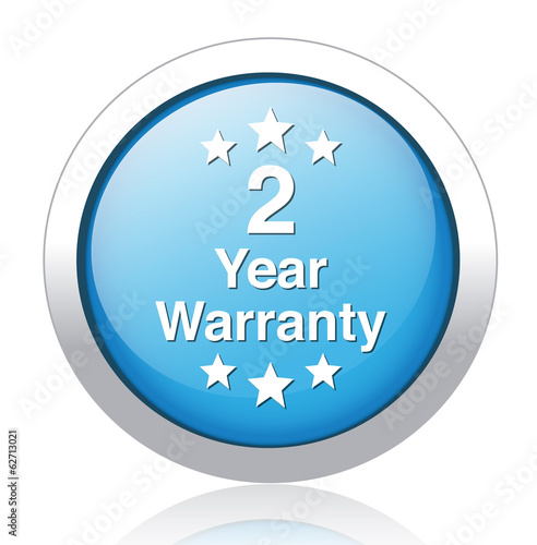 year warranty button