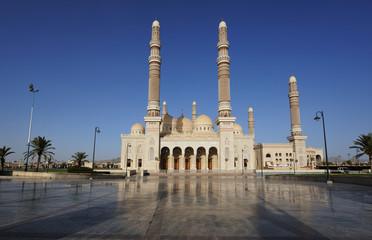 Yemen. Sanaa. Saleh mosque