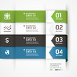 Abstract arrow business infographics template. Vector illustrati