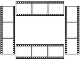 フィルムのフレーム