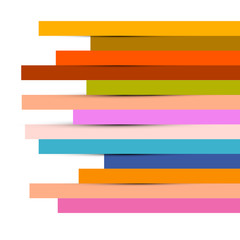 Abstract Colorful Paper Strips Background