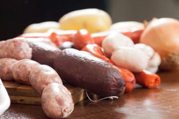 traditional Spanish sausage