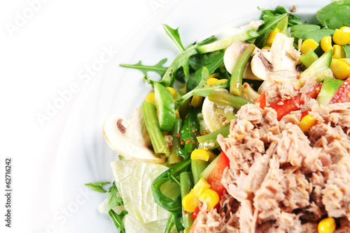 fresh chopped tuna salad