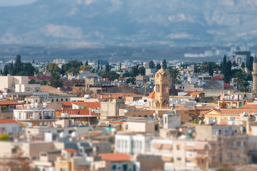A view of Nicosia