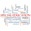 Special Education Word Cloud Concept