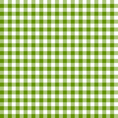 Karo Tischdecken Muster GRÜN - endlos