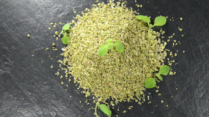 Portion of dry Oregano (not loopable)