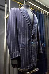Suits on shop mannequins