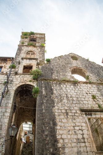 Old Stone Church in Kotor