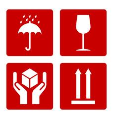 Cardboard symbols