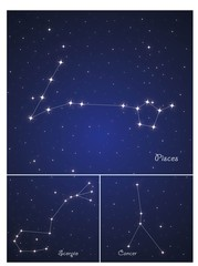 Constellations Cancer,pisces and Scorpio
