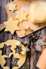 Weihnachten, Weihnachtsgebäck, Kekse, Plätzchen, Butterplätzchen