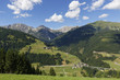 Österreich, Kärnten, Karnischen Alpen, Leschatal, Dorf Xaverlberg
