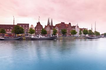 Deutschland, Schleswig-Holstein, Lübeck Ansicht Hafenmuseum