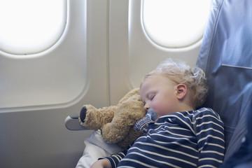 Deutschland, Junge schläft