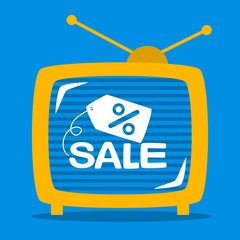 retro television shows on the screen sale