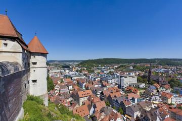 Deutschland, Baden Württemberg, Blick auf Schloss Hellenstein in Heidenheim an der Brenz