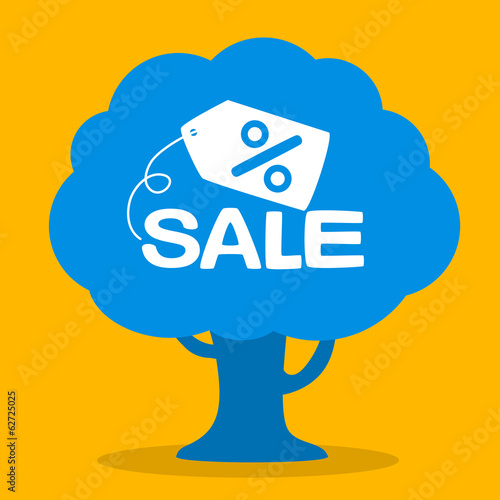 sale grows on tree