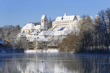 Deutschland, Bayern, Ansicht von St. Mang Kirche in der Nähe von Lech
