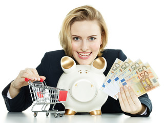 Woman wants to save money for purchasing