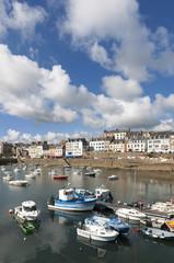 Frankreich, Bretagne, Hafen von Douarnenez