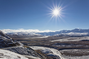USA, Alaska, Ansicht der Alaska Range im Denali-Nationalpark