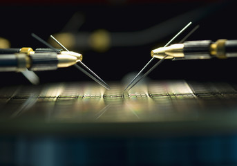 Automatisierte Messung von Mikrosensoren