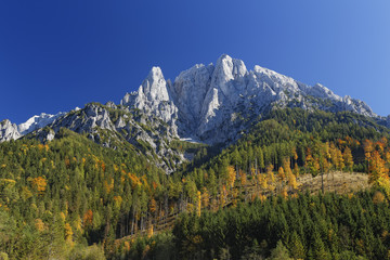 Österreich, Steiermark, Grosser Oedstein, Nationalpark Gesäuse