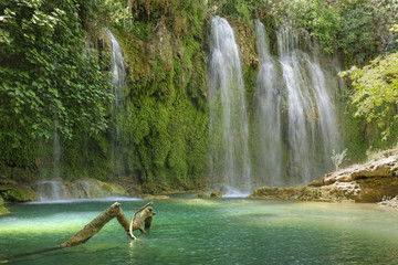 Türkei, Antalya, Kursunlu Wasserfall