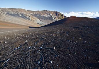 USA, Ansicht von Vulkanen auf Hawaii Haleakala National Park