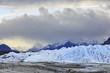 USA, Alaska, Ansicht der Chugach -Berge, Tal und Matanuska Matanuska Gletscher