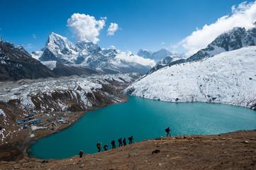 Gokyo lake and himalayas, Everest region, Nepal