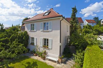 Deutschland, Stuttgart, Ansicht Haus