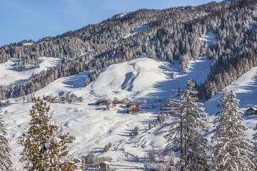 Italien, Dolomiten, Ansicht von Alta Badia in La Villa