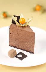 Piece of Chocolate Mousse