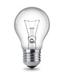 canvas print picture - classic light bulb