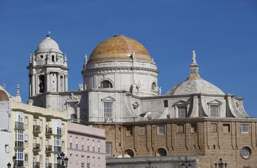 Spanien, Blick auf Kathedrale