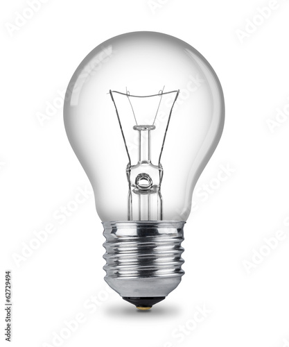canvas print picture classic light bulb