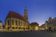 Deutschland, Bayern, Amberg, Blick auf St. Martin-Kirche