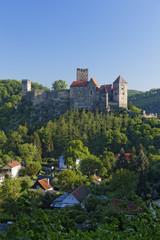 Österreich, Oberösterreich, Hardegg, Hardegg Burg