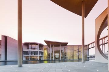 Deutschland, Berlin, Blick von Marie-Elisabeth- Lüders -Gebäude an der Paul -Löbe- Haus