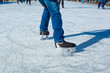 Skater on ice