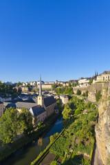 Luxemburg, Ansicht der Abtei Neumünster