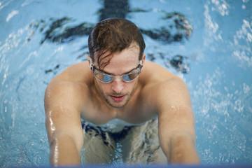 Rückenschwimmer