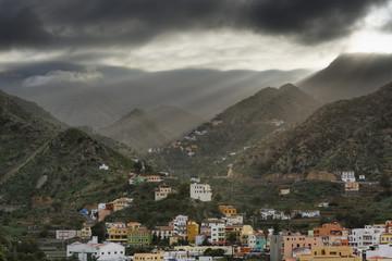 Spanien, La Gomera, Ansicht von Vallehermoso