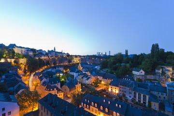 Luxemburg, Ansicht der Stadt